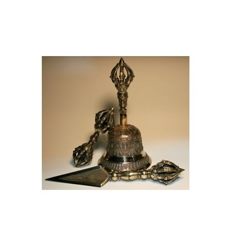 Tibetan Buddhist Phurba Ghanta/Bell