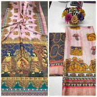 Traditional Printed Saree