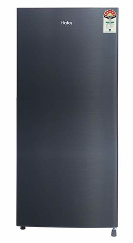 Haier 195 L 5 Star ( 2019 ) Direct Cool Single Door Refrigerator (HRD-1955CSS-E, Shiny Steel)