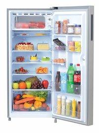 Haier 195 L 5 Star ( 2019 ) Direct Cool Single Door Refrigerator (HRD-1955CSS-E, Shiny Steel)