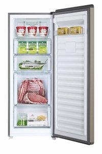 Haier 168 L Frost-Free Single Door Vertical Freezer (BD-168WL, Golden Finish)