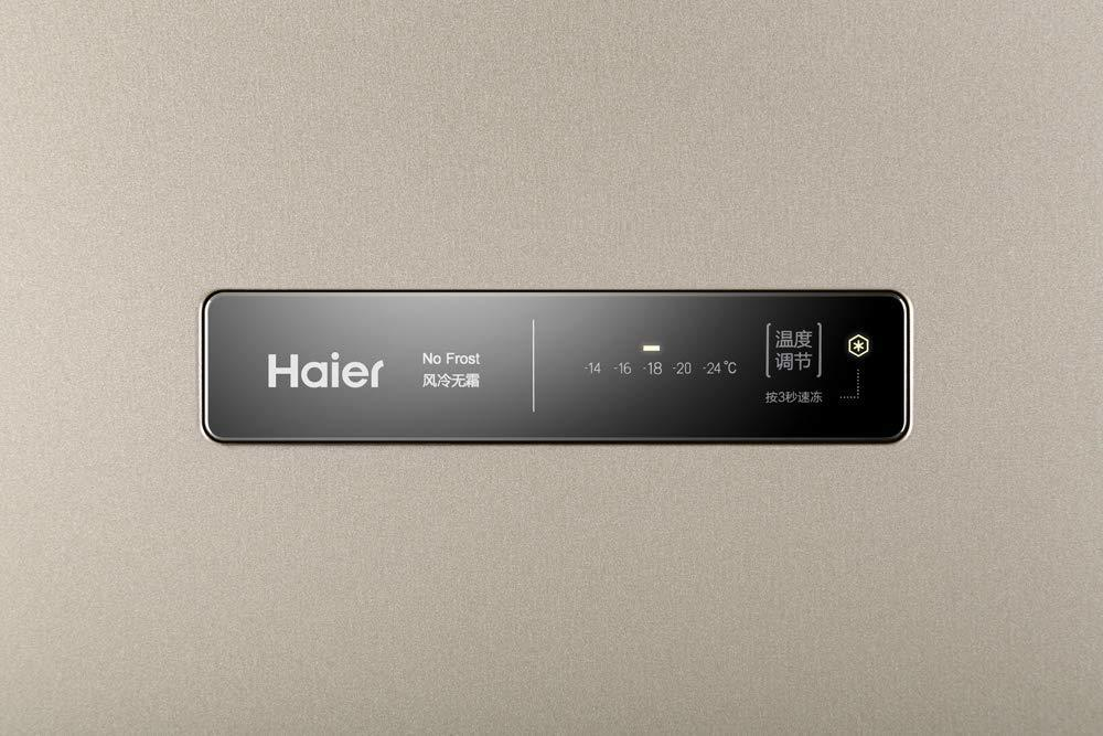 Haier 168 L Frost-Free Single Door Vertical Freezer (BD-168WL, Golden Finish)