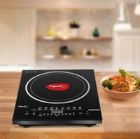 Pigeon Rapido Anti Skid Induction Cooktop  (Black, Touch Panel)