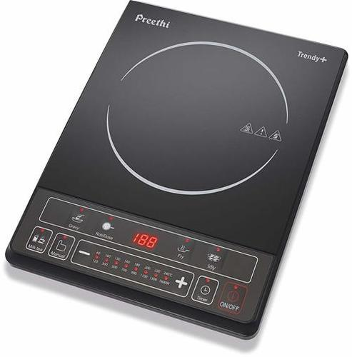 Preethi Trendy Plus 116 1600-Watt Induction Cooktop (Black)