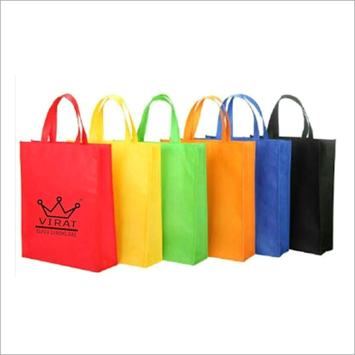 PP Printed Loop Handle Non Woven Bag