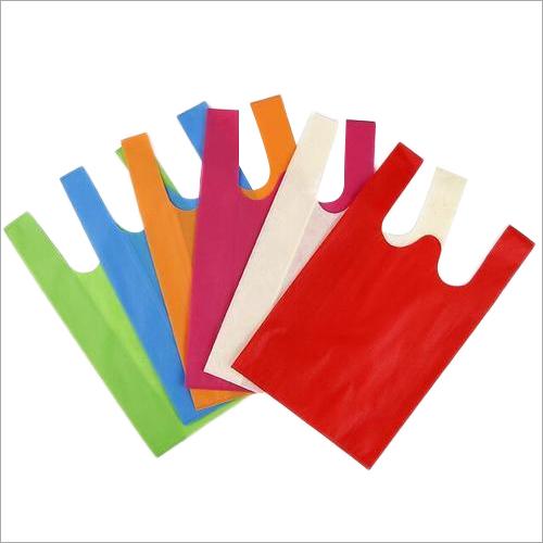 PP Plain W Cut Non Woven Bag