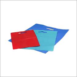 PP D Cut Plain Non Woven Bag