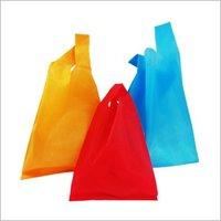 PP Colored W Cut  Non Woven Bag