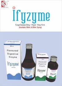 Enzyme Syrup- Diastase 50mg + Pepsin 10mg/10ml