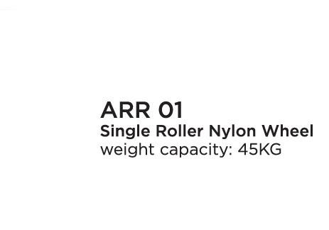 Single Roller Nylon Wheel