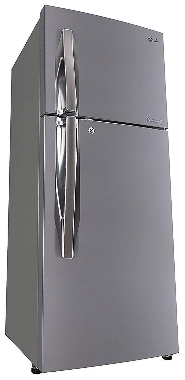 LG 260 L 4 Star (2019) Frost Free Double Door Refrigerator(GL-I292RPZL, Shiny Steel, Smart Inverter Compressor)