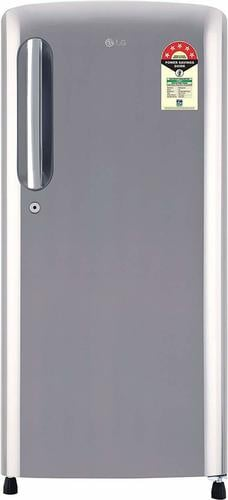 LG 190 L 5 Star ( 2019 ) Direct Cool Single Door Refrigerator(GL-B201APZY, Shiny Steel, Inverter Compressor)