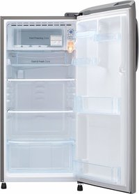 LG 190 L 5 Star ( 2019 ) Direct Cool Single Door Refrigerator(GL-B201APZY, Shiny Steel, Inverter Compressor)