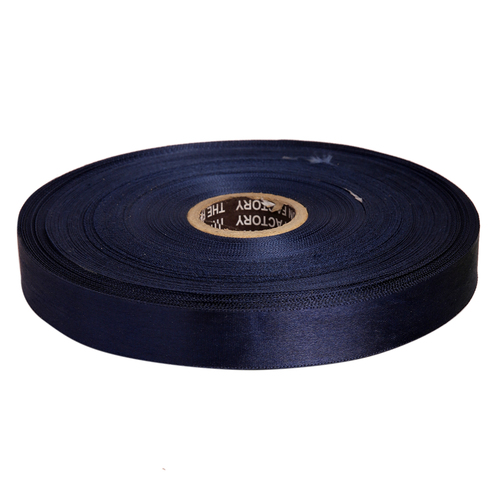 Double Satin NR - Navy Blue