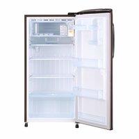 LG 215 L 5 Star ( 2019 ) Inverter Direct Cool Single Door Refrigerator (GL-B221AASY, Amber Steel)