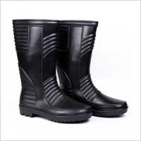 Welsafe Black Rain Boots