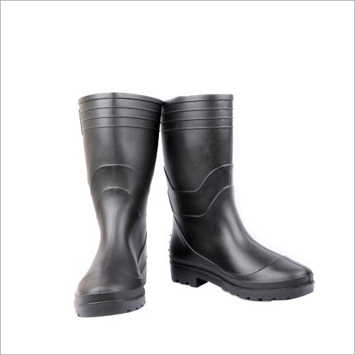Welcome Black Rain Boots