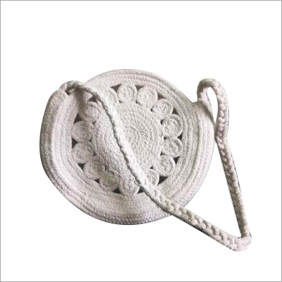 Hand Braided Designer Cotton Bag