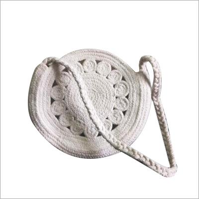 Hand Braided Designer Cotton Bag