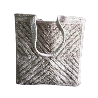 Designer Hand Braided Cotton Bag