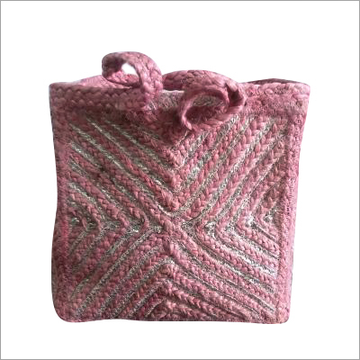 Hand Braided Cotton Shopping Bag