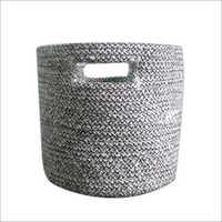 Braided Cotton Basket