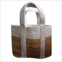 Designer Braided  Cotton / Jute Hand Bag