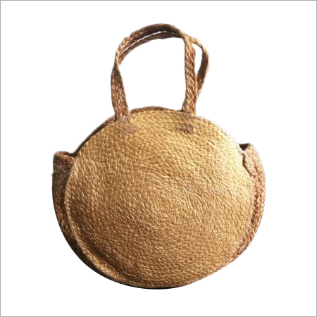 Braided Vintage Hand Made Jute Shopping Bag