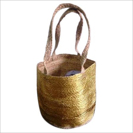 Hand Braided Jute Shopping Bag