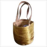 Hand Braided Jute Shopping Bag