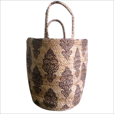 Hand Woven Jute Shopping Bag