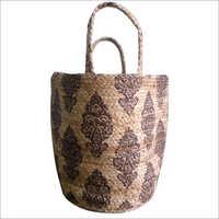 Hand Woven Jute Shopping Bag