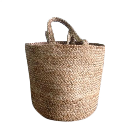 Braided Jute Bag
