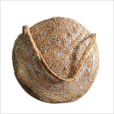 Hand Woven Jute Tote Bag
