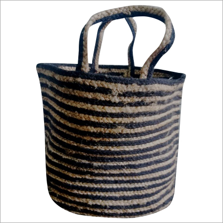 Designer Braided Jute Bag
