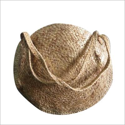 Cross Body Braided Jute Bag