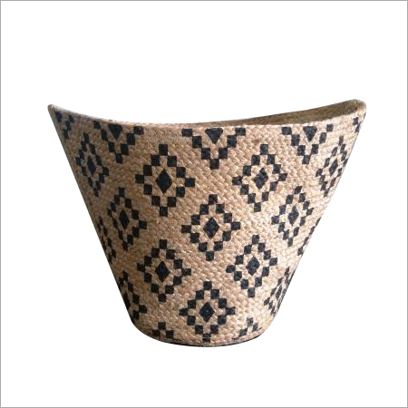 Designer Hand Braided Jute Storage Basket