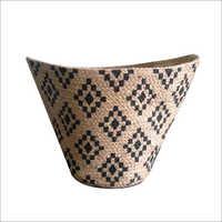 Designer Hand Braided Jute Storage Basket