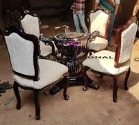premium 4 seater dining table set