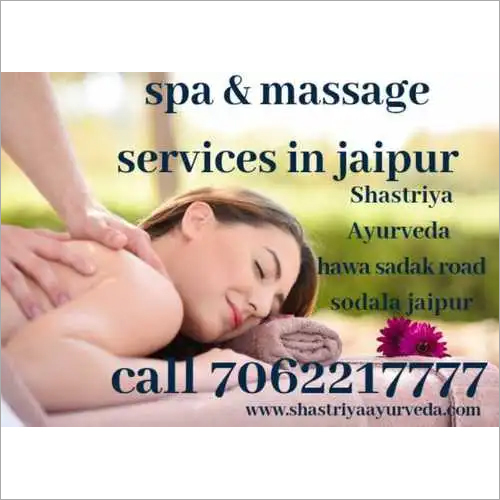 Spa massage for Jaipur women