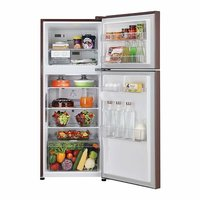 LG 260 L 4 Star ( 2019 ) Frost-Free Frost-Free Double-Door Refrigerator (GL-C292SASX, Amber Steel)