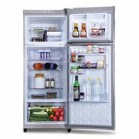 Godrej 261 L 3 Star (2019) Frost-Free Double-door Refrigerator (RT EON VALOR 261P 3.4 STL RSH, Steel Rush, Inverter Compressor)