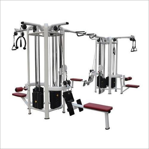 8-Station Multi Gym Trainer Application: Endurance