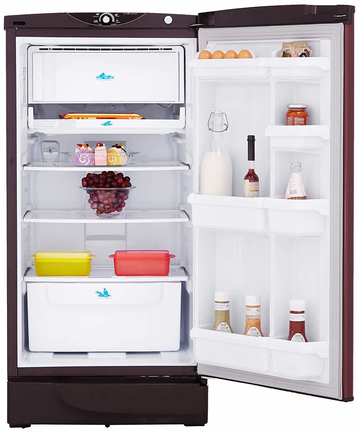 Godrej 190 L 3 Star (2019) Direct-Cool Single-Door Refrigerator (RD 1903 PT 3.2, Scarlet Dremin)