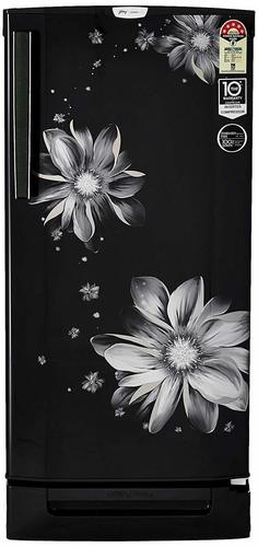 Godrej 190 L 5 Star (2019) Inverter Direct-Cool Single Door Refrigerator (RD EPRO 205 TDI 5.2 PRL BLK, Pearl Black, Base Stand with Drawer, Inverter Compressor)