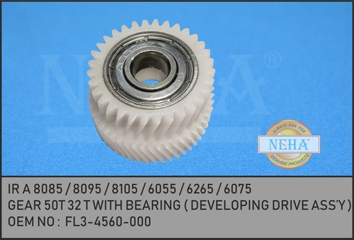 GEAR 50T 32 T WITH BEARING ( DEVELOPING DRIVE ASS'Y )