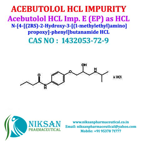 ACEBUTOLOL HCL IMPURITY E (EP)