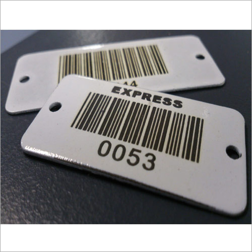 Plastic Barcode Tag