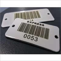 Plastic Barcode Tag