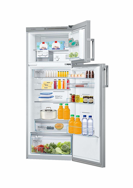 Bosch 347 L 4 Star Frost Free Double Door Refrigerator(KDN43VL40I, Inox, Inverter Compressor)